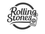 Логотип Rolling Stones hostel